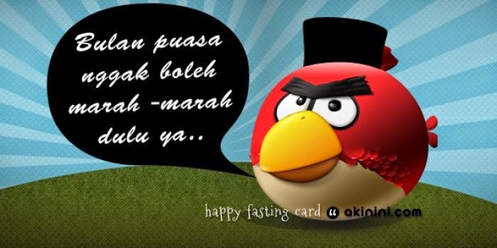 Angry Birds Kumpulan Gambar Kata Lucu Ramadhan