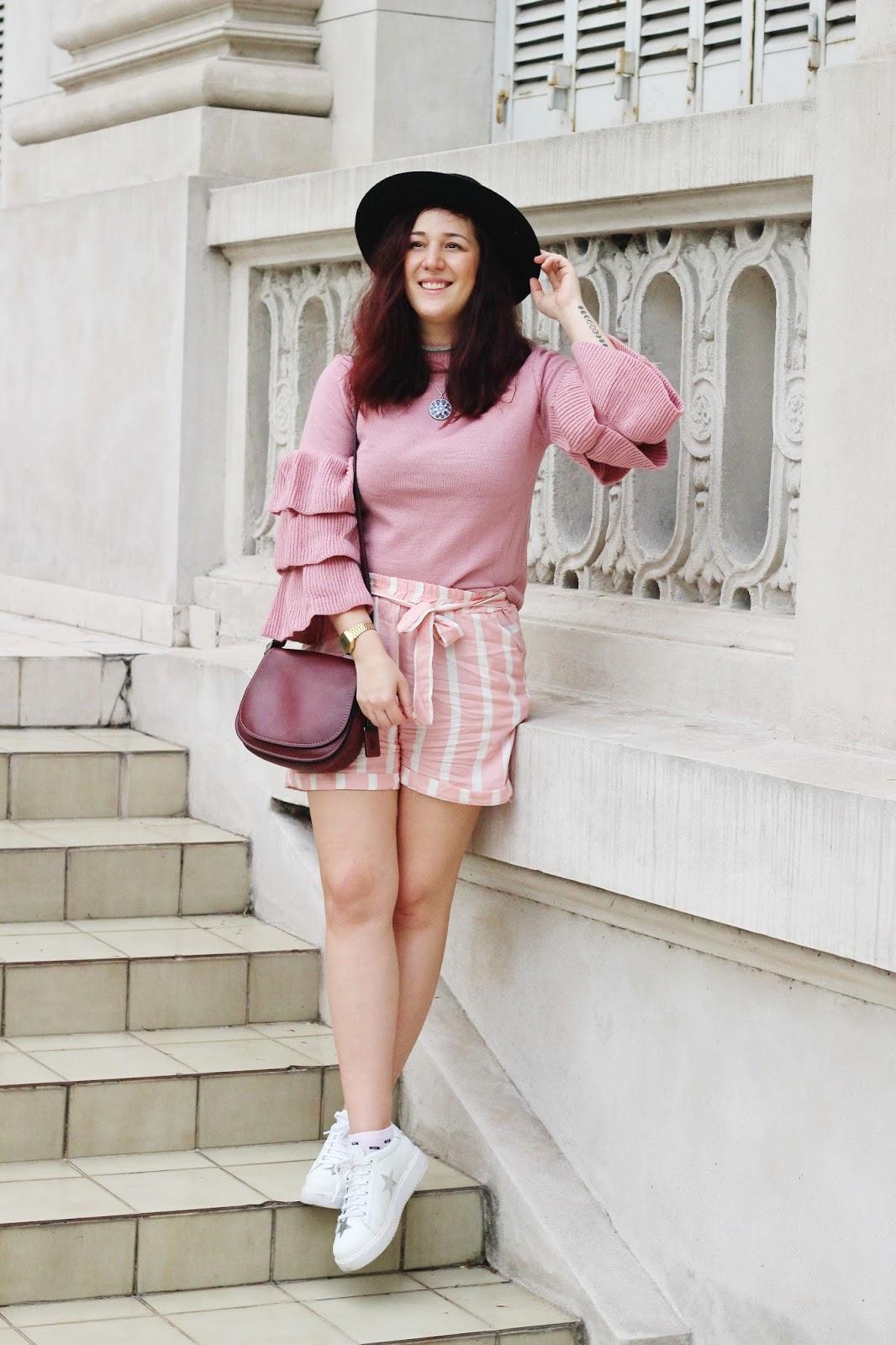 como vestir de rosa