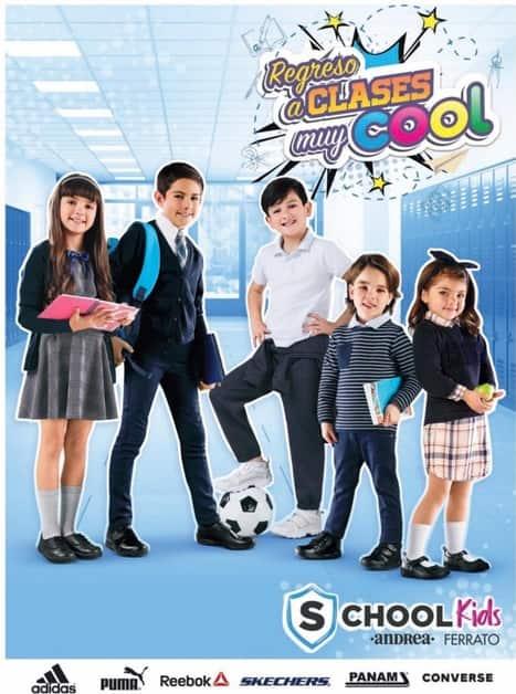 Andrea catalogo colegial kids 2018