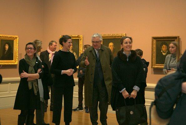 Belgian Prince Laurent, Princess Claire, Princess Louise, Prince Nicolas and Prince Aymeric