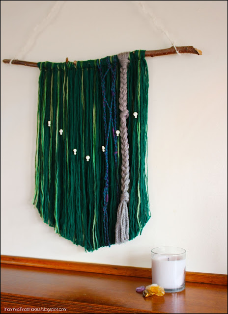 Pinspiration - Wall Hanging From Yarn