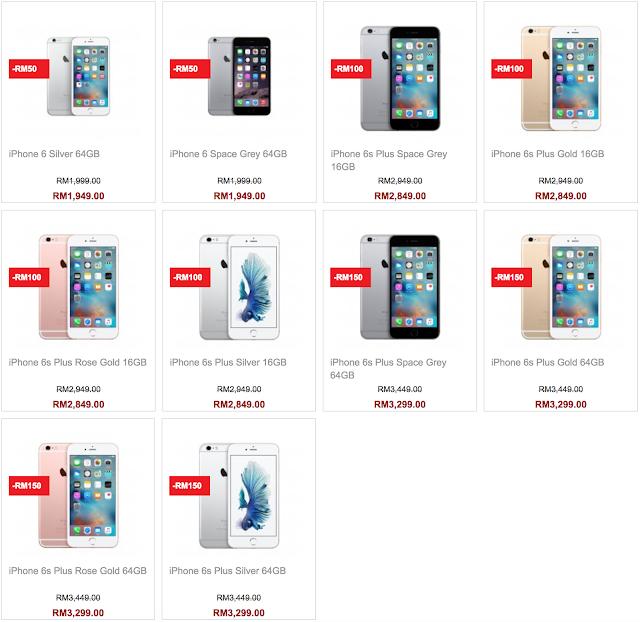 Senheng Malaysia Apple iPhone 6s Plus Discount Sale