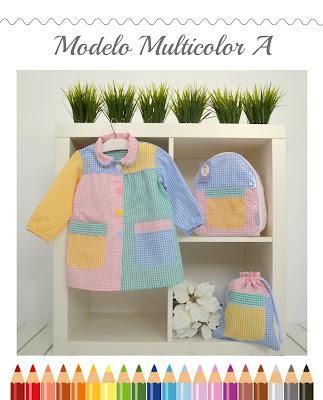 baby multicolor y complementos