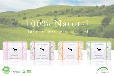Jabón natural y artesano de leche de cabra