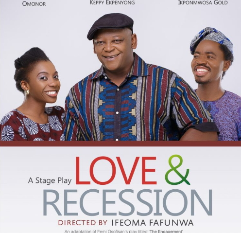 love and recession stage play