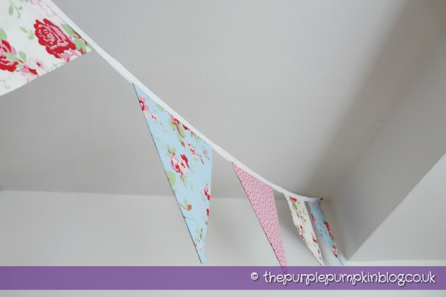 Fabric Bunting Part II