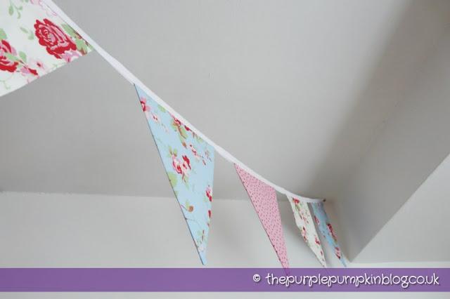 Fabric Bunting Part II