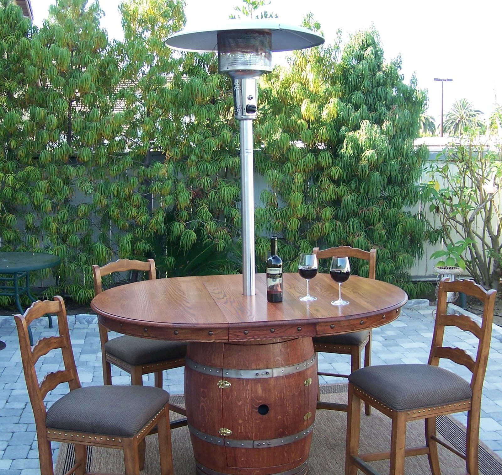Patio Heaters Propane With Table For Garden Party
