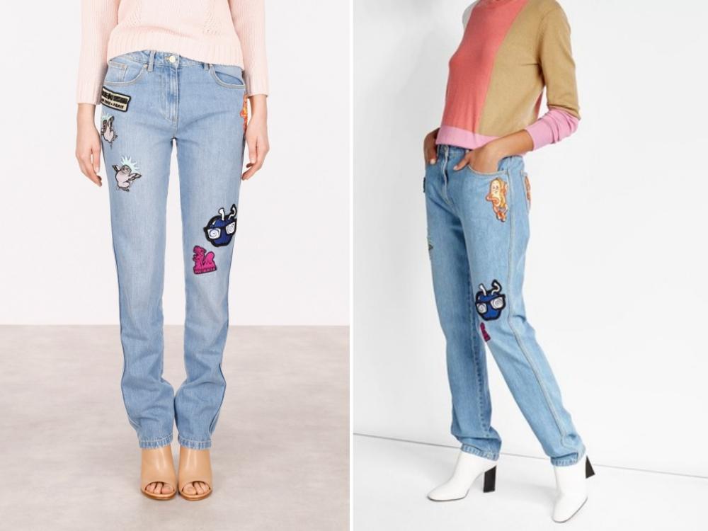 Jeans mit Patches von Kenzo