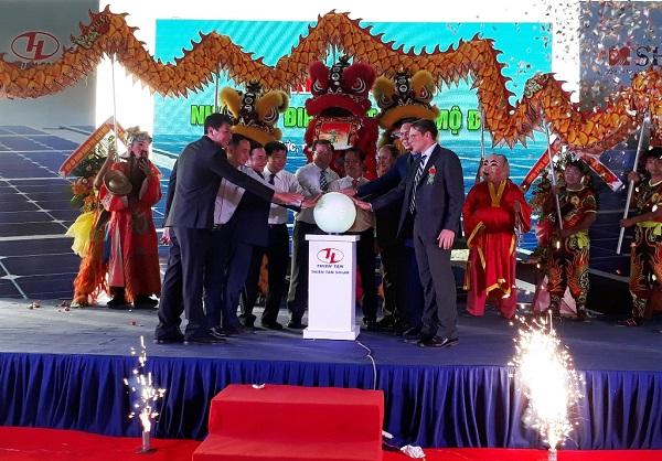 Quảng Ngãi: Khánh thành Nhà máy điện mặt trời gần 1.000 tỷ đồng