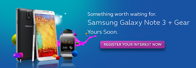 Samsung Galaxy Gear and Galaxy Note 3