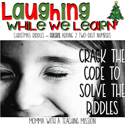 https://www.teacherspayteachers.com/Product/FREEBIE-Christmas-Riddles-through-Addition-with-Regrouping-3524327