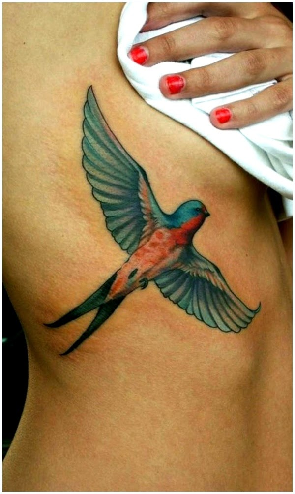 20 stunning sparrow bird tattoo designs for girls. Black Bedroom Furniture Sets. Home Design Ideas