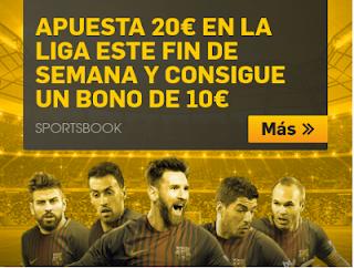 betfair apuesta Liga y consigue bono 10 euros 13 enero