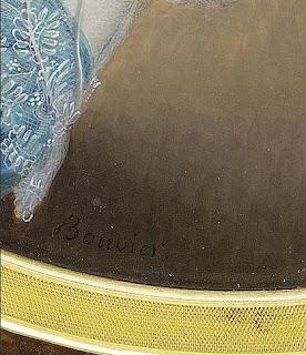 160917d1299a Mujer desconocida con vestido azul. Firmado. Hacia 1835. Acuarela y guache  sobre marfil. Dimensiones  105x80 mm. Localización desconocida