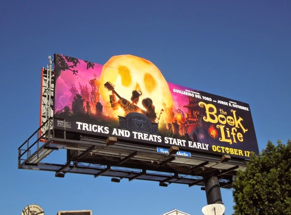 Book of Life movie special extension billboard