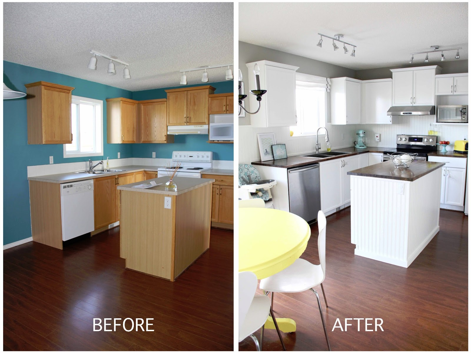 Bright Kitchen Remodel U2013 DIY Version