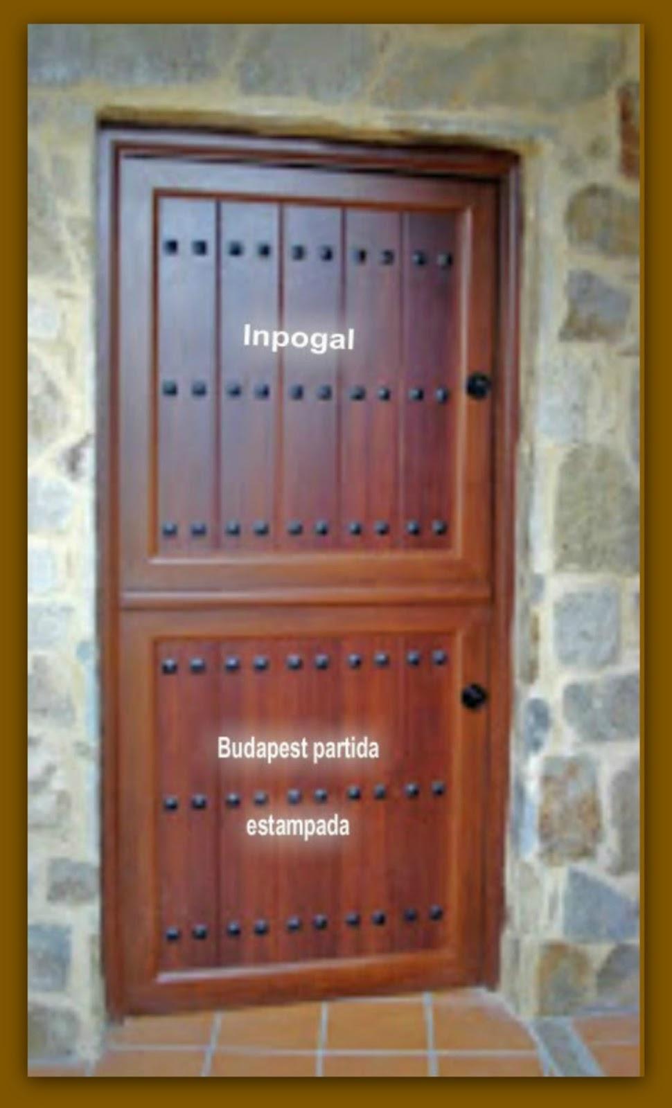 Puertas Aluminio Inpogal ~ Puertas De Entrada De Aluminio Rusticas