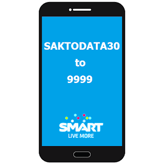 Smart SAKTO DATA 30, 7 days Internet Promo Plus Free Calls