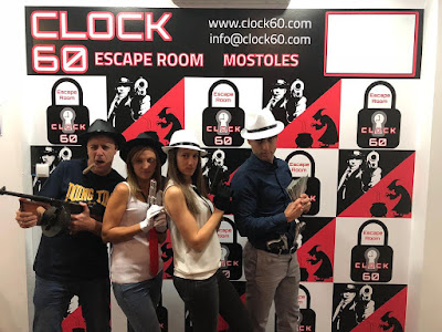 "Aventura ""La Mafia"", Escape Room Clock60"