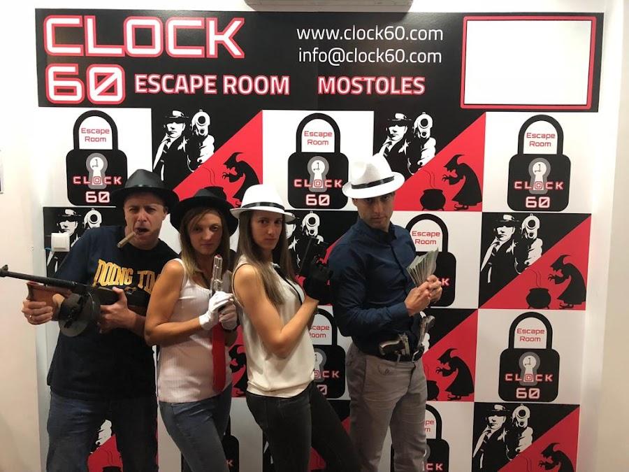 """Aventura """"La Mafia"""", Escape Room Clock60"""