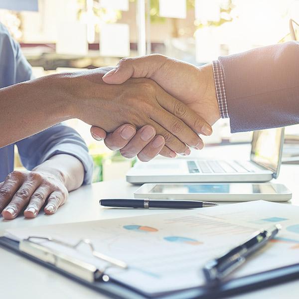 new client handshake