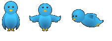 burung twitter blog widget