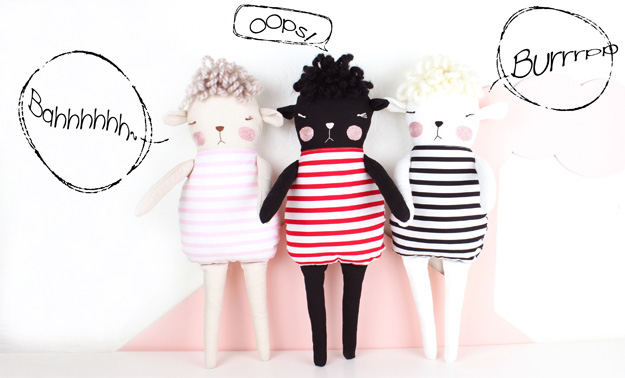 soft toy sheep