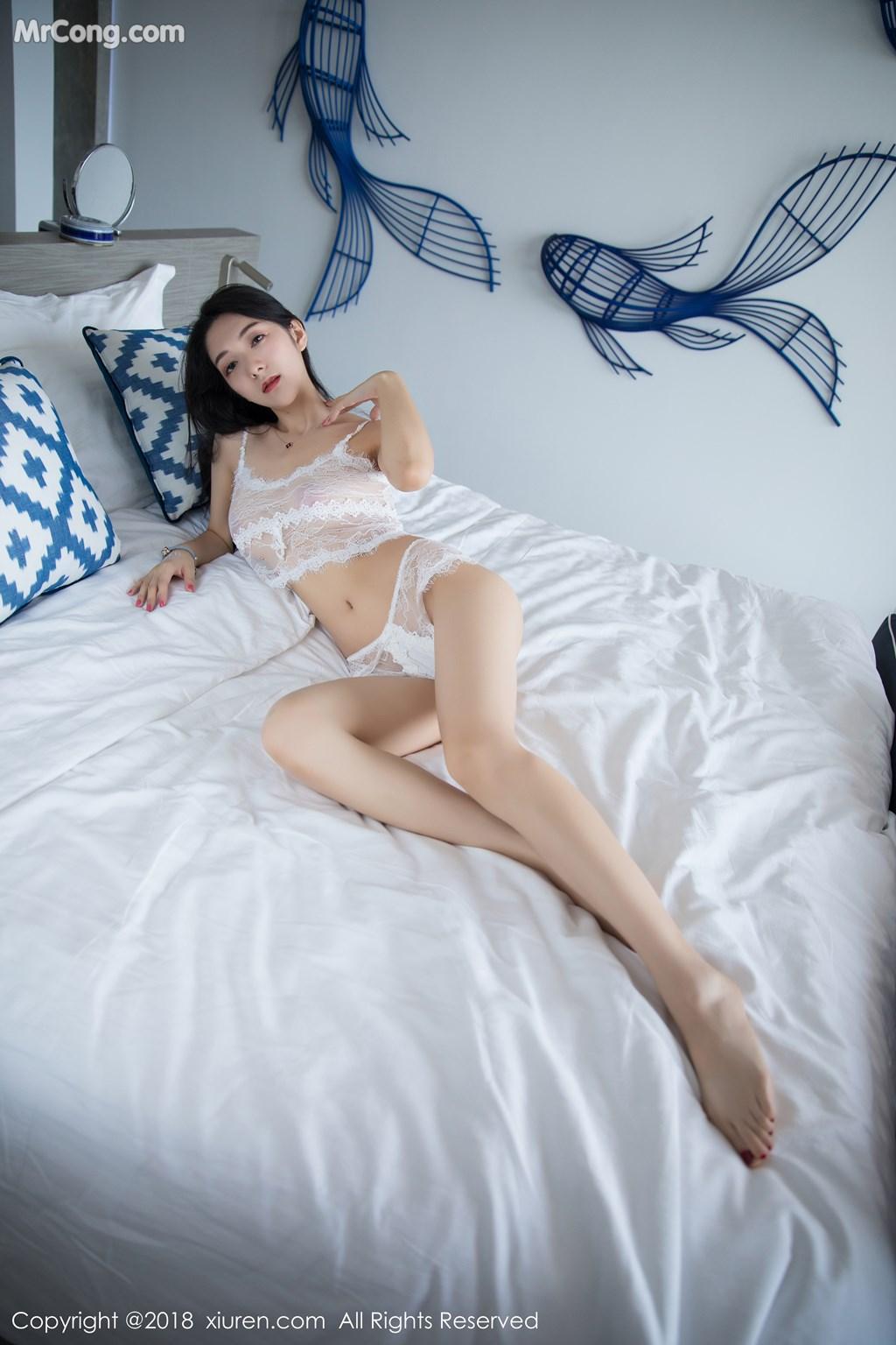 Image XIUREN-No.1205-Xiao-Reba-Angela-MrCong.com-009 in post XIUREN No.1205: Người mẫu Xiao Reba (Angela小热巴) (54 ảnh)