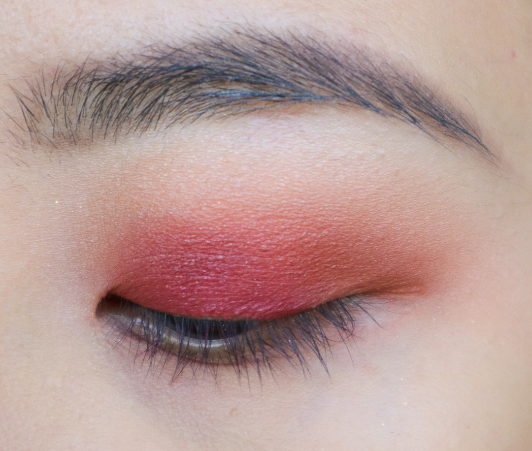 Red and Duochrome Eyeshadow Tutorial using Colourpop Yes Please Palette