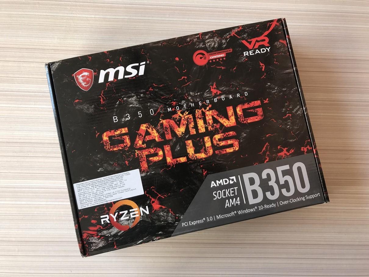 MSI B350 Gaming Plus Review ~ Computers and More | Reviews