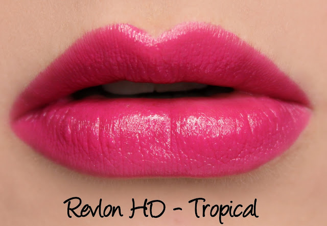Revlon Ultra HD Gel Lipcolor - HD Tropical Swatches & Review
