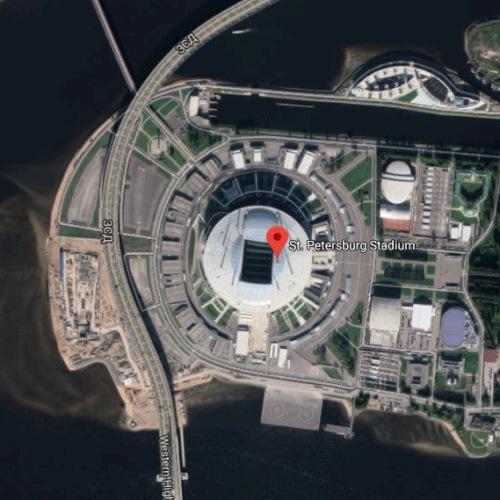 Stadion Krestovsky, Saint-Petersburg, Rusia | Piala Dunia FIFA 2018