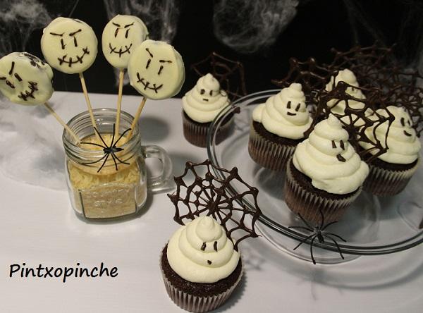 halloween, cupcakes, pastel, galletas, chocolae, recetas sin gluten