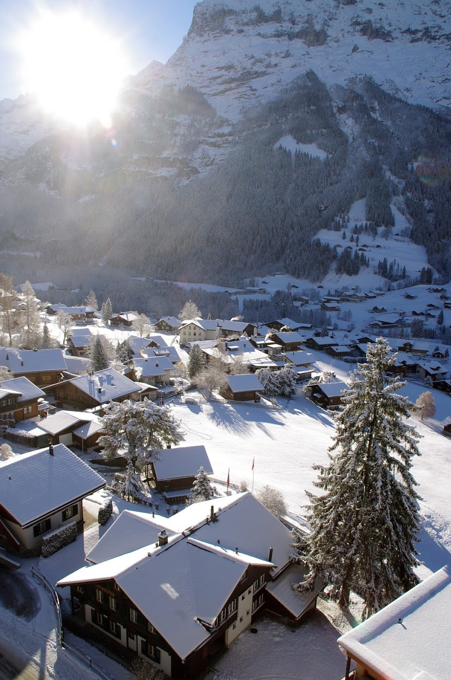 Grindelwald Switzerland in Winter