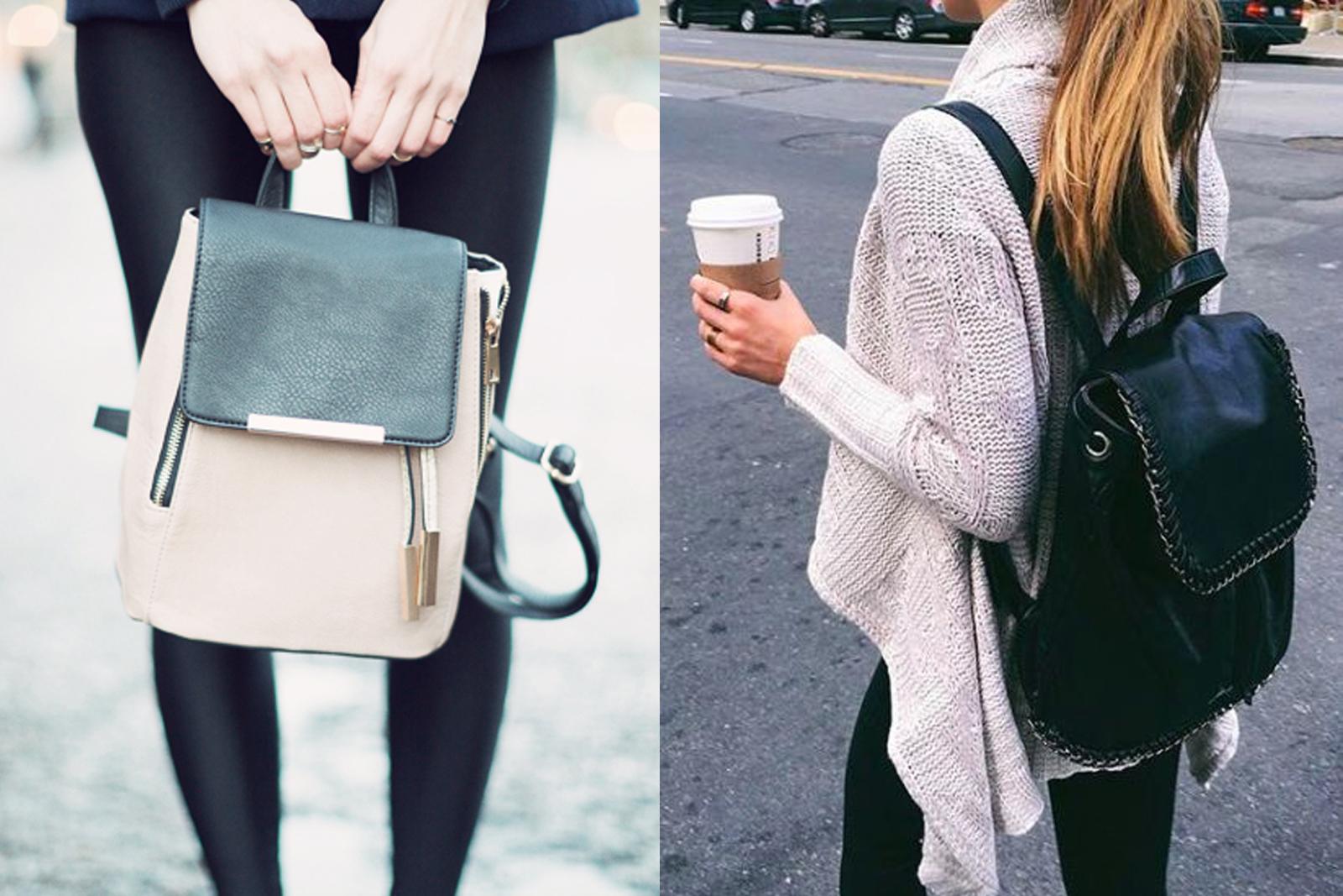 Regresso com estilo - mochilas para todos