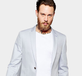 River Island Skinny Fit Blazer In Light Blue Rp5.040.000 SKU-0004