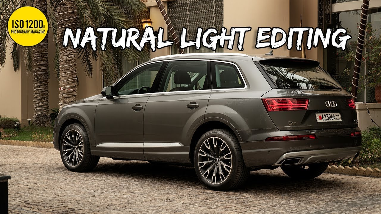 Editing & retouching Car Photos in photoshop (Natural light + CPL)