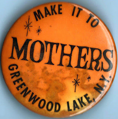Mother's rock club button