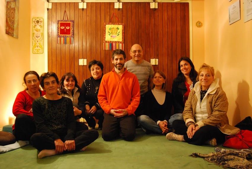 Sábado de meditación grupal