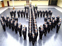 Foto del Batallón de Cadetes ENAMM en formación