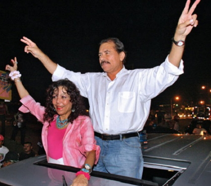 nicaragua president wife running mate