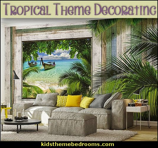 Decorating theme bedrooms - Maries Manor: Tropical bedroom ...