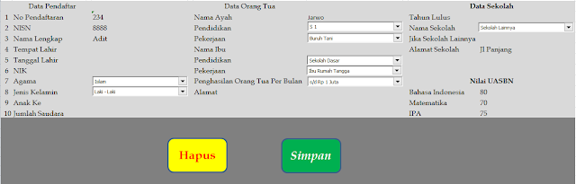 Aplikasi Formulir PSB