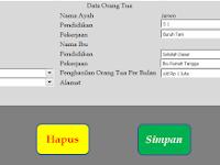Aplikasi Formulir Penerimaan Siswa Baru Format Excel