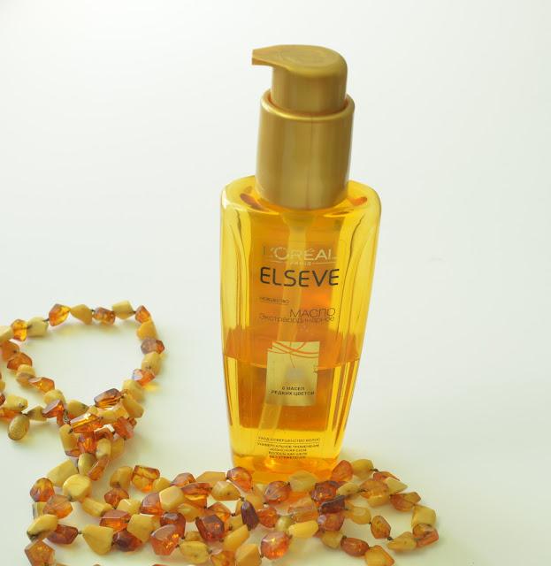 L'Oreal Elseve Oil Масло для волос Экстраординарное, 6 масел редких цветов