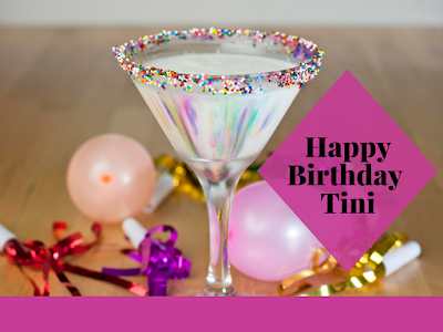 Happy Birthday Tini is the perfect cocktail to help celebrate that special birthday!