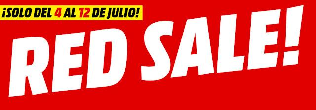 Top 5 ofertas folleto Red Sale de Media Markt