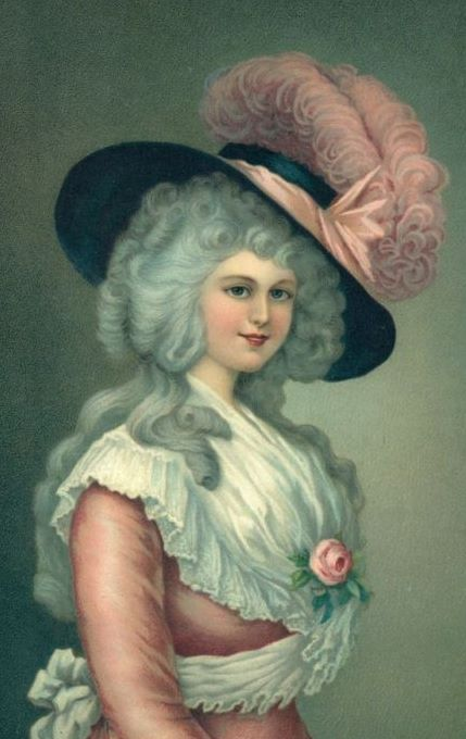 bumble button r tic french and english paintings of women of  r tic french and english paintings of women of the late 1700 s ladies of the 18th century from antique postcards and prints