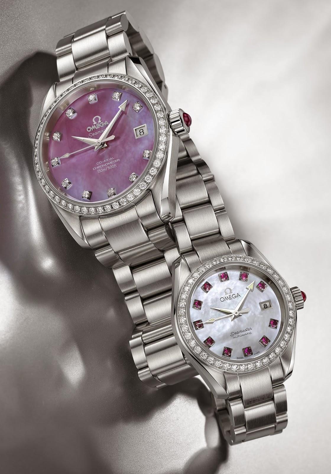 Omega Seamaster Aqua Terra Jewellery Collection